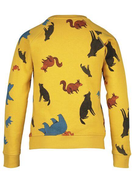 kindersweater geel geel - 1000016511 - HEMA
