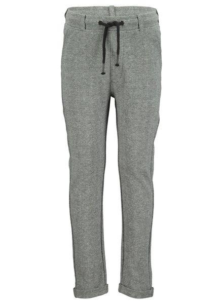 kinder sweatbroek grijsmelange grijsmelange - 1000016842 - HEMA
