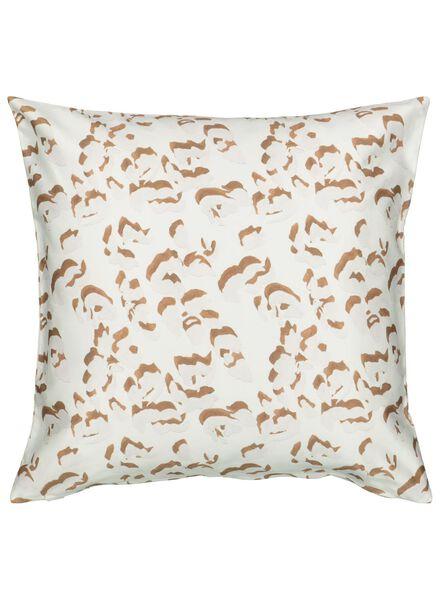 kussenhoes - 50 x 50 - naturel luipaard - 7392019 - HEMA