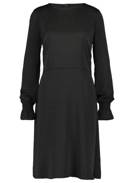 damesjurk zwart zwart - 1000017184 - HEMA