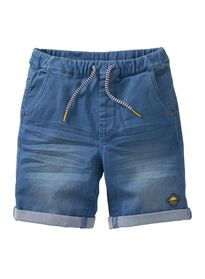 kindershort denim denim - 1000012403 - HEMA