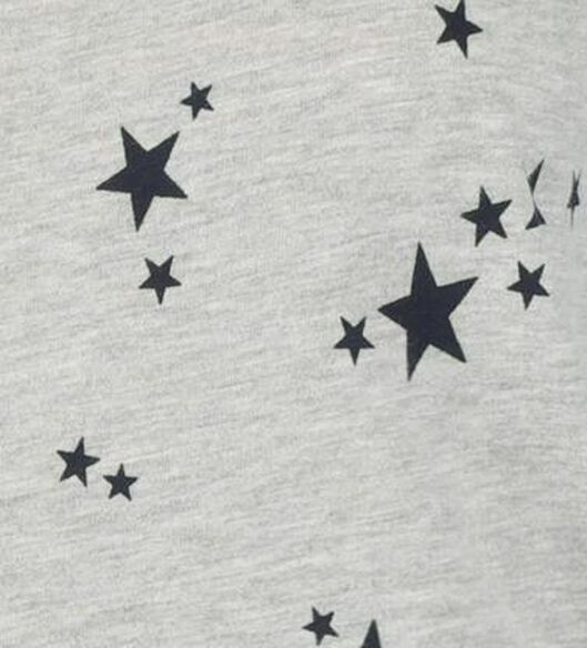 damesnachthemd grijsmelange grijsmelange - 1000020063 - HEMA