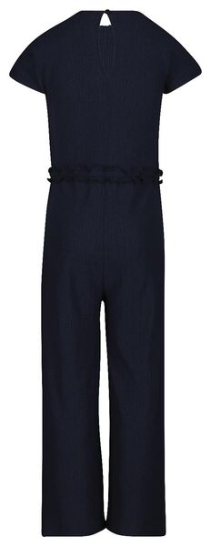 kinder jumpsuit donkerblauw donkerblauw - 1000019043 - HEMA