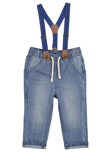 babybroek denim 80 - 33119904 - HEMA