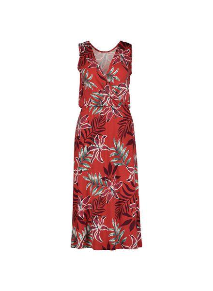 damesjurk rood rood - 1000015185 - HEMA