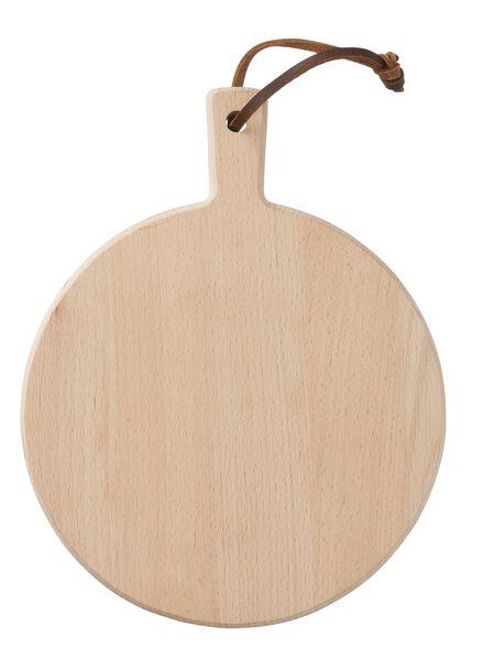 plank - Ø 25 cm - hout - 80810136 - HEMA