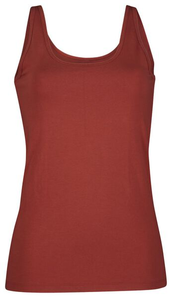 dames singlet rood XL - 19614065 - HEMA