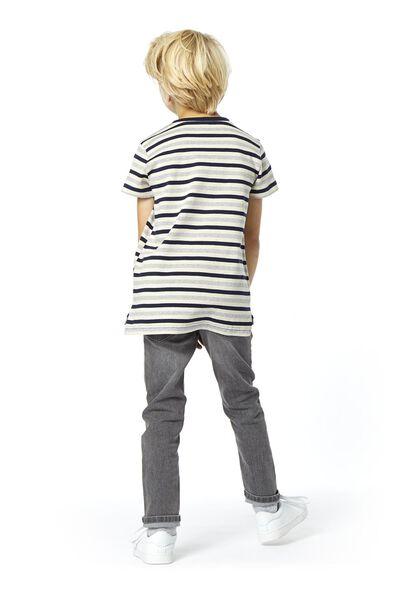 kinder t-shirt donkerblauw 134/140 - 30736244 - HEMA