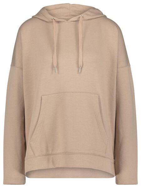 dames capuchonsweater roze L - 36200073 - HEMA