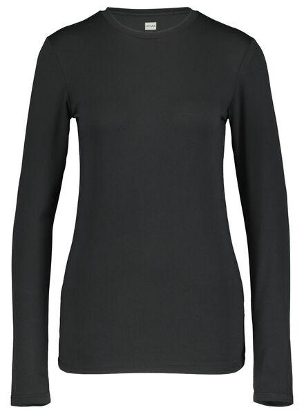 dames sporttop gerecycled zwart zwart - 1000017331 - HEMA