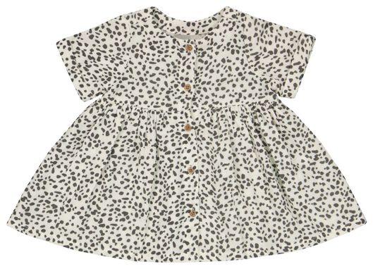 babyset jurk en broekje gebroken wit gebroken wit - 1000023443 - HEMA