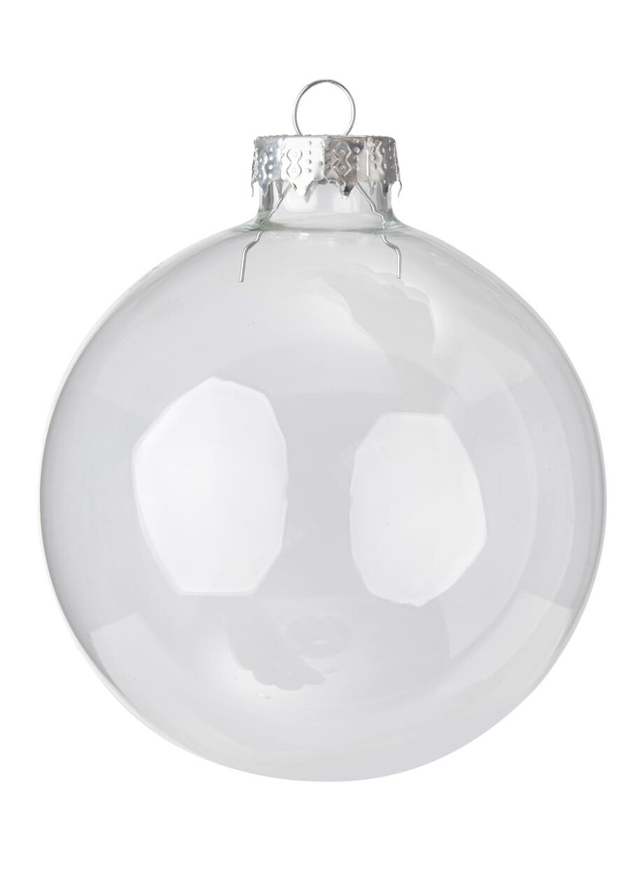 Kerstbal Glas ø 8 Cm Diy Hema