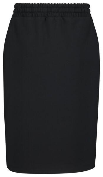 damesrok zwart S - 36268071 - HEMA