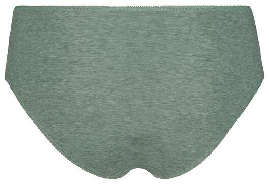 3-pak dameshipsters groen groen - 1000018557 - HEMA