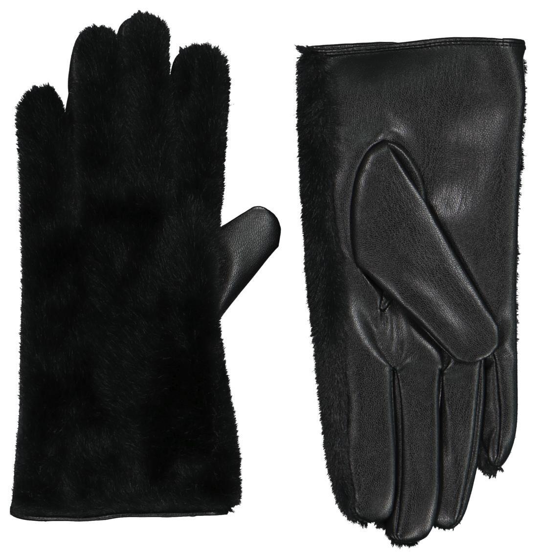 HEMA Dameshandschoenen Touchscreen Zwart (zwart)