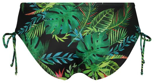 dames bikinibroekje - flower groen XXL - 22340065 - HEMA