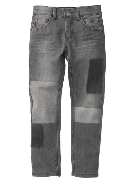 kinderbroek grijs grijs - 1000008259 - HEMA