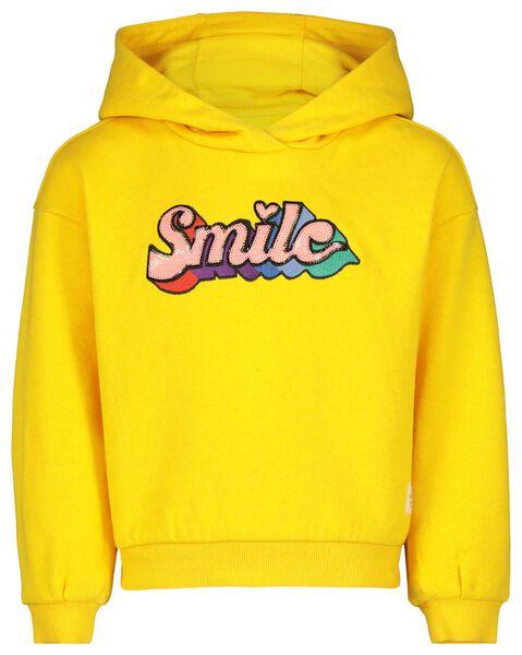 kindersweater - recycled katoen geel geel - 1000017617 - HEMA