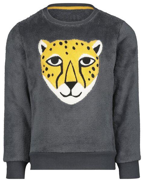 kinderpyjama cheeta geel geel - 1000021720 - HEMA