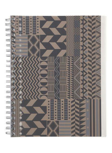 notitieboek 4-in-1 A4 gelinieerd - 14540604 - HEMA
