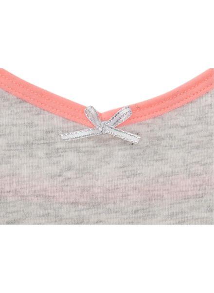 2-pak meisjeshemden grijsmelange grijsmelange - 1000007304 - HEMA
