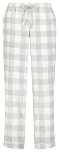 dames pyjamabroek grijs grijs - 1000020266 - HEMA