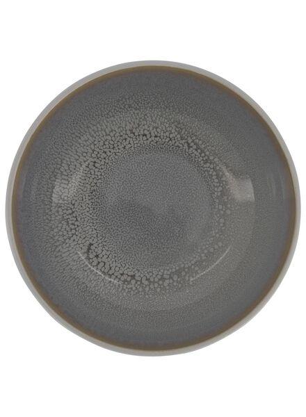 schaal - 16 cm - Helsinki - reactief glazuur - lichtgrijs - 9602017 - HEMA