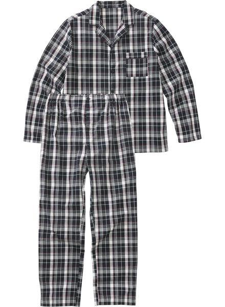 herenpyjama donkerblauw donkerblauw - 1000012577 - HEMA