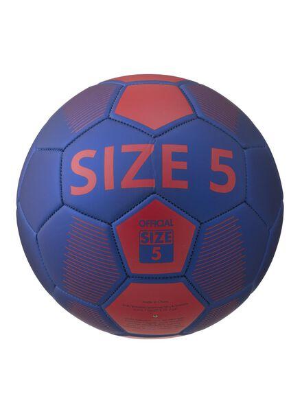 voetbal maat 5 - 34114150 - HEMA