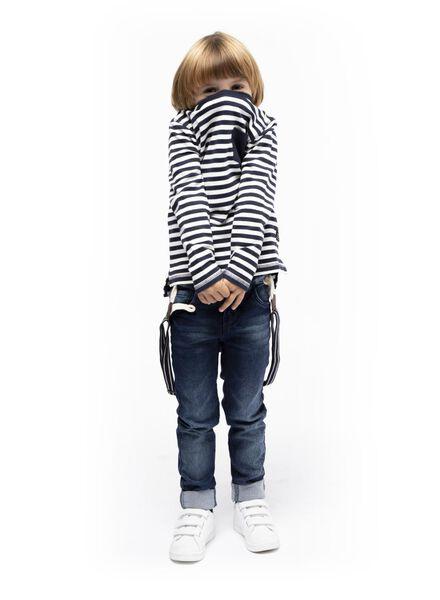 kinder t-shirt donkerblauw donkerblauw - 1000016829 - HEMA
