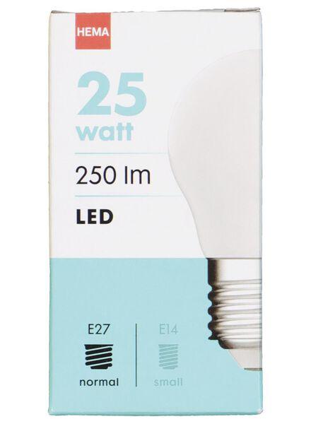 LED lamp 25W - 250 lm - kogel - mat - 20020035 - HEMA