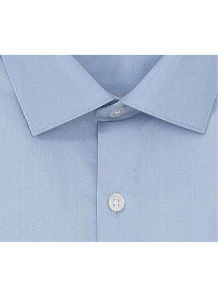 herenoverhemd tailored fit lichtblauw lichtblauw - 1000000694 - HEMA