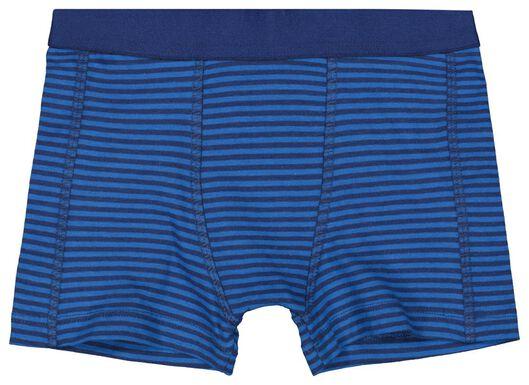 3-pak kinderboxers blauw blauw - 1000017790 - HEMA