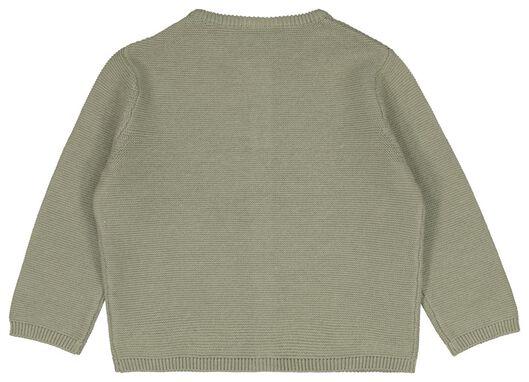 babyvest groen groen - 1000023530 - HEMA