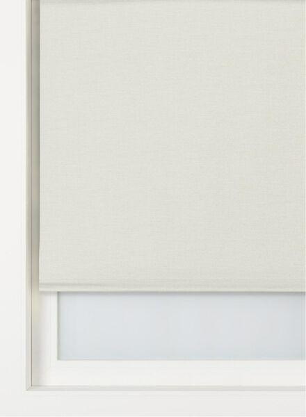 rolgordijn structuur verduisterend/gekleurde achterzijde ecru structuur verduisterend/gekleurde achterzijde - 7410665 - HEMA