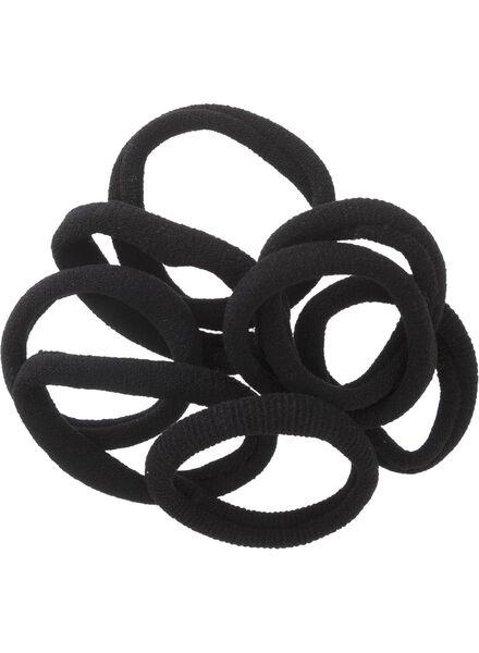 9-pak elastiekjes badstof - 11872020 - HEMA