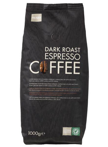 koffiebonen dark roast - 17100013 - HEMA
