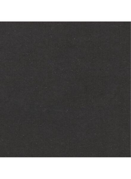heren t-shirt - slim fit - extra lang zwart zwart - 1000009877 - HEMA