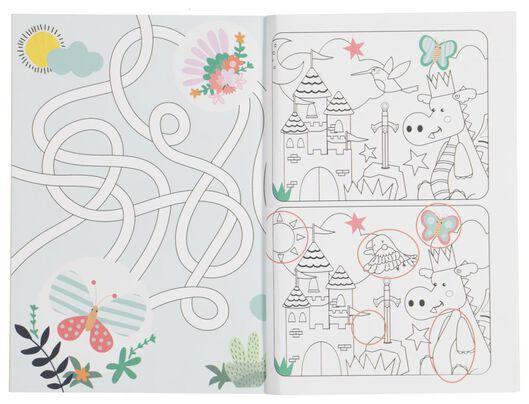 kleur-en-doe boek - 15910095 - HEMA