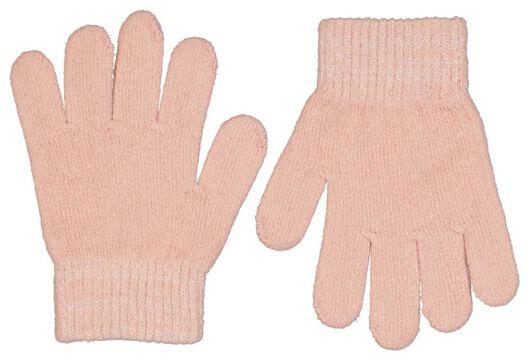 kinderhandschoenen roze roze - 1000025235 - HEMA