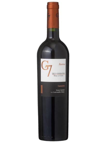 G7 carmenere reserva - rood - 17361125 - HEMA