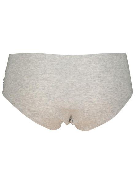 B.A.E. dameshipster grijsmelange grijsmelange - 1000002306 - HEMA