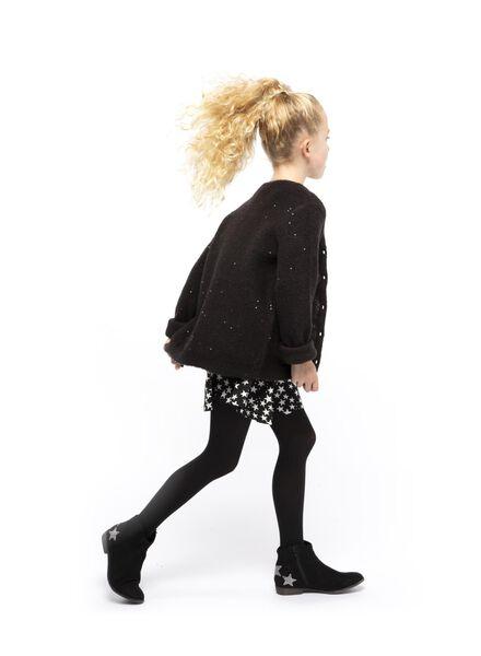 kindervest zwart zwart - 1000017240 - HEMA