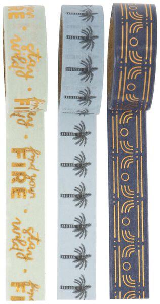washi tape - 3 stuks - 14502122 - HEMA