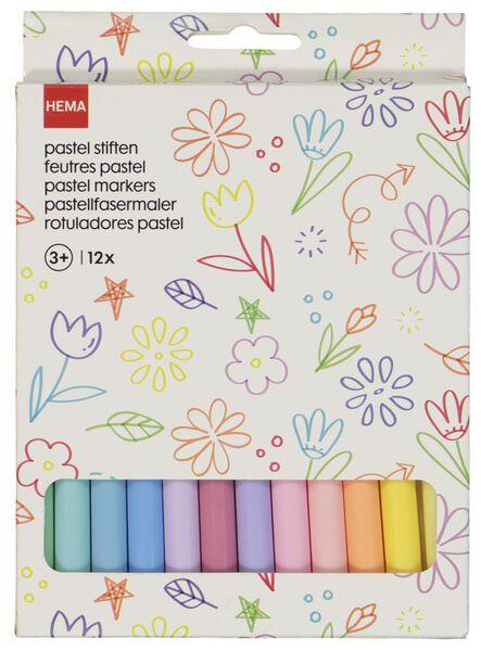 stiften pastel - 12 stuks - 15990193 - HEMA