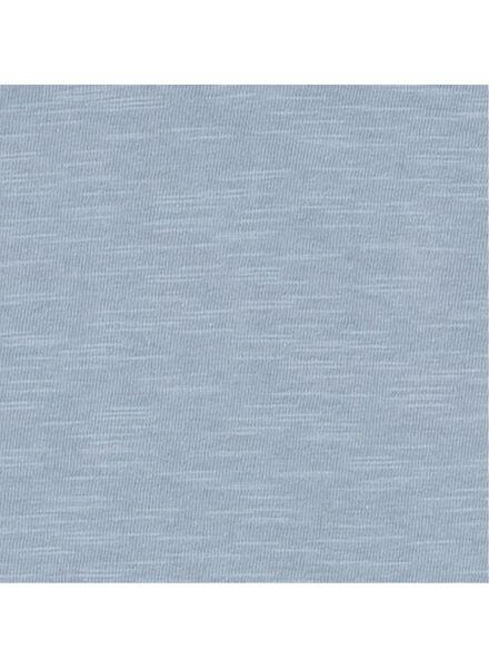 heren t-shirt lichtblauw lichtblauw - 1000009020 - HEMA