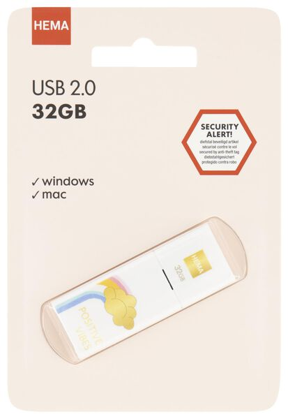 USB-stick 32GB - regenboog - 39580007 - HEMA