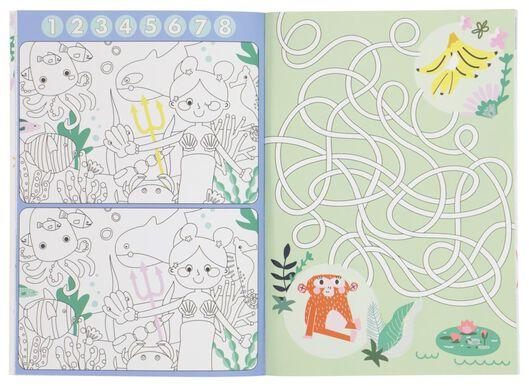 kleur-en-doe boek - 15910093 - HEMA