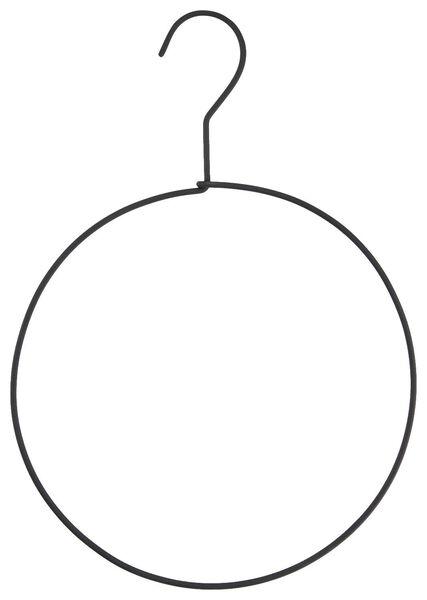 multihanger Ø20cm metaal zwart - 39821121 - HEMA