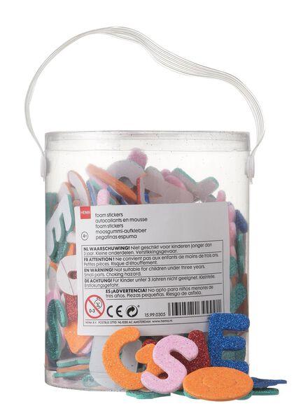 foam stickers alfabet - 15990305 - HEMA